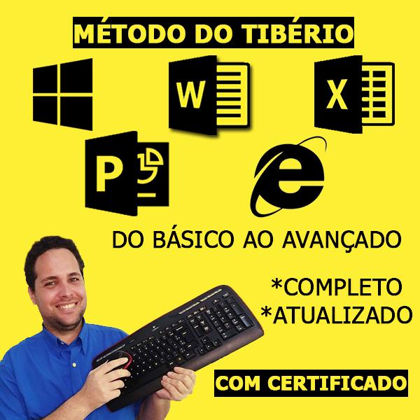 Informática Turbo - Básico ao Avançado - Método do Tibério