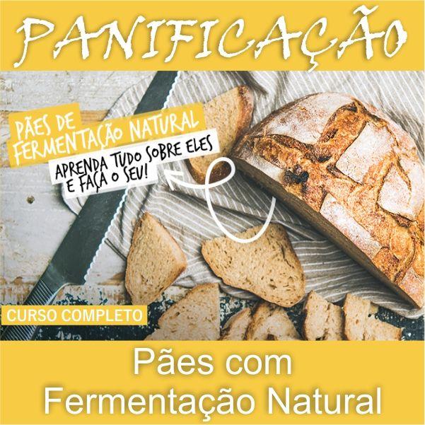 Curso de Panificação com Fermentação Natural