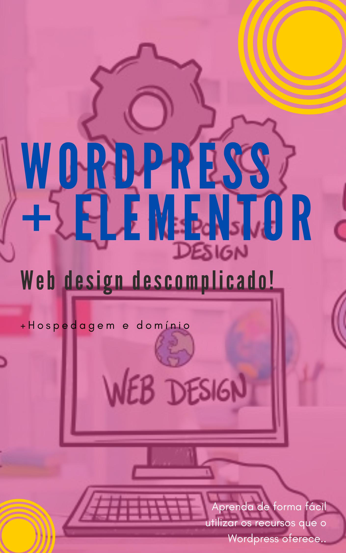 Sites incríveis - Web design - WordPress e Elementor