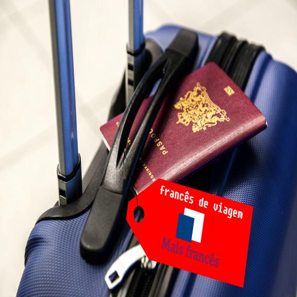 Francês de viagem
