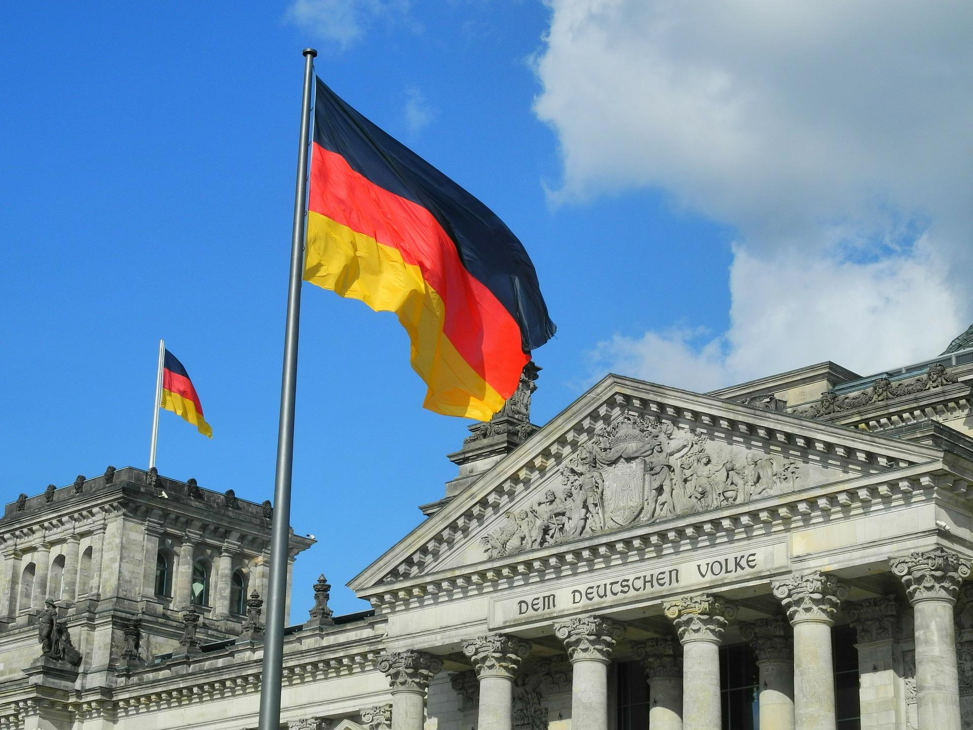 Reichstag, o Parlamento Alemão.
