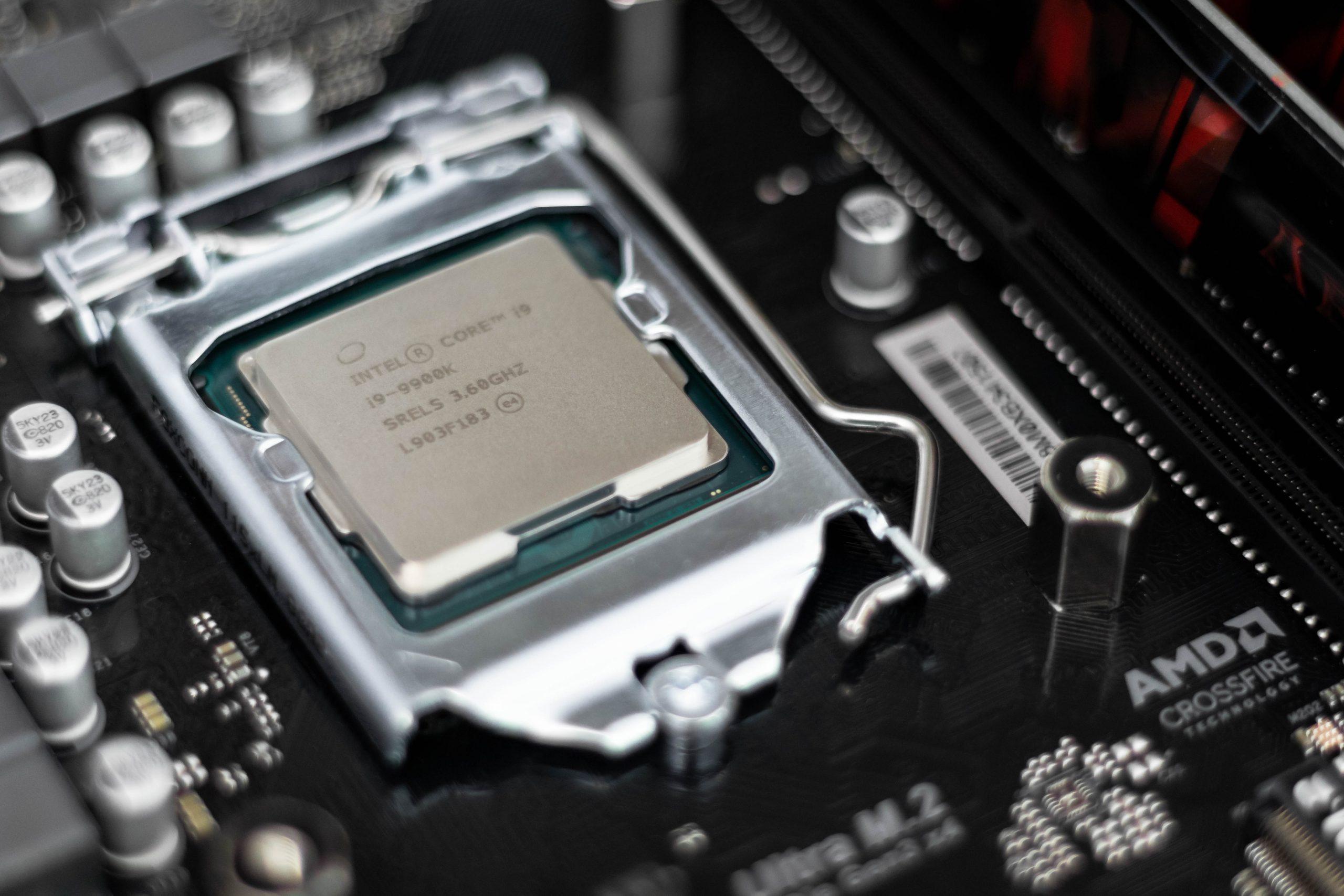 Processador Intel Core i9.