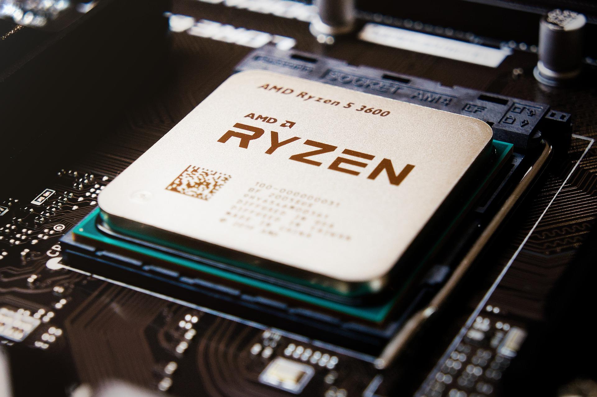 Processador AMD Ryzen.