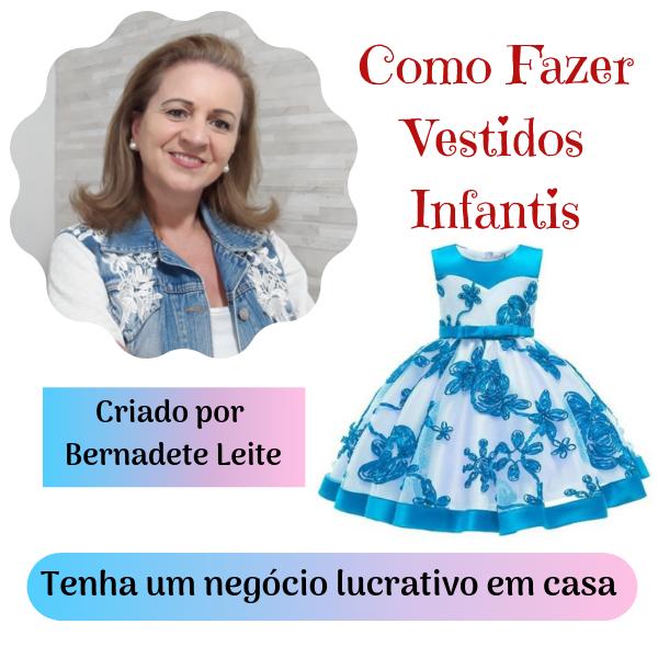 Como Fazer Vestidos Infantis do Básico ao Avançado