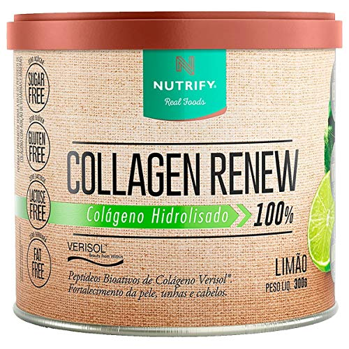 Collagen Renew Verisol - 300G Limão - Nutrify, Nutrify