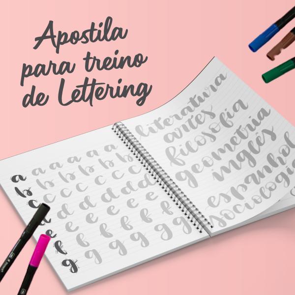 Apostila Para Treino de Lettering