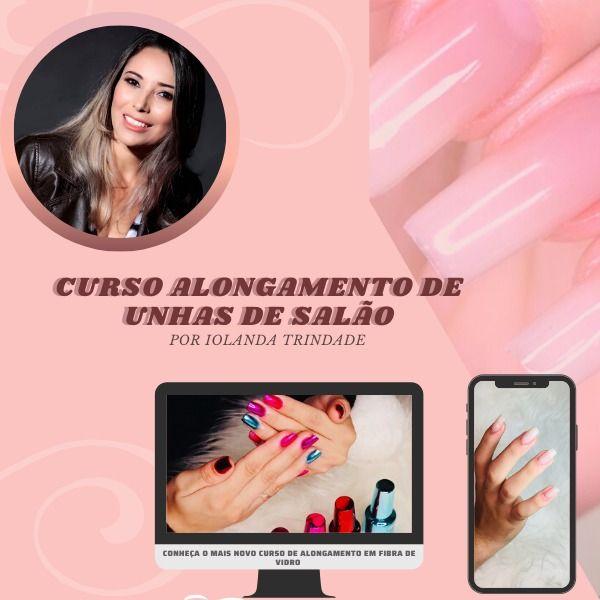 CURSO ALONGAMENTO DE UNHAS DE SALÃO