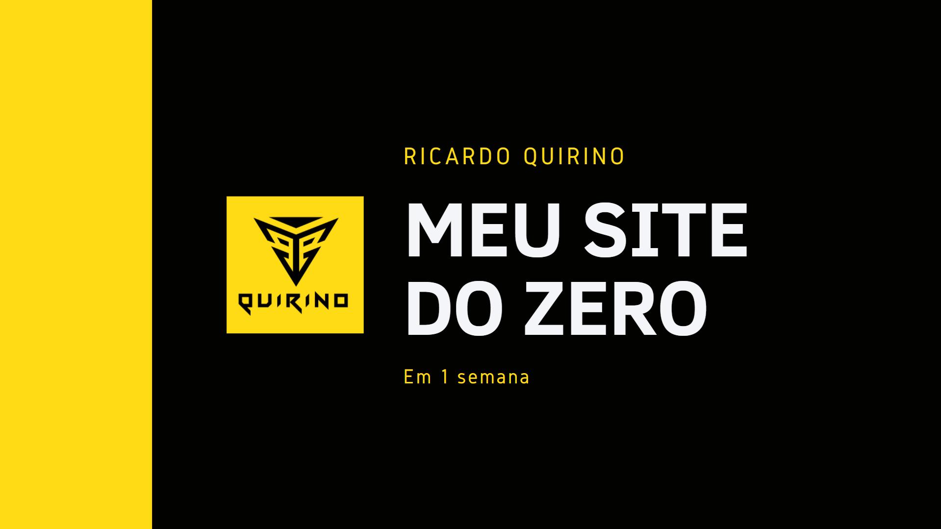 Site Zero - WordPress em duas horas