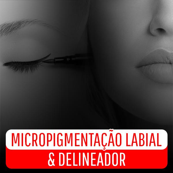 Micropigmentação Labial e Delineador