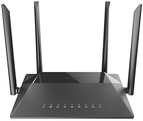 Roteador Wireless Ac 1200Mbps Wan/Lan Gigabit-Ethernet 802.11Ac com 4 Antenas Externas 5Dbi