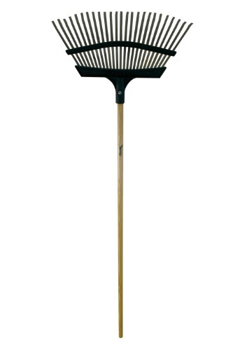 Flexrake Ancinho de grama 9F com apenas cabeça de metal/poliéster de 50,8 cm (20 polegadas)
