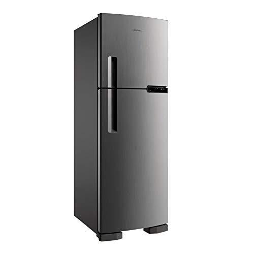Geladeira Brastemp Frost Free Duplex 375 litros cor Inox - 110V