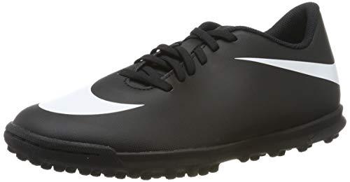Chuteira Nike Black 2 TF Society (42, BLACK WHITE BLACK)