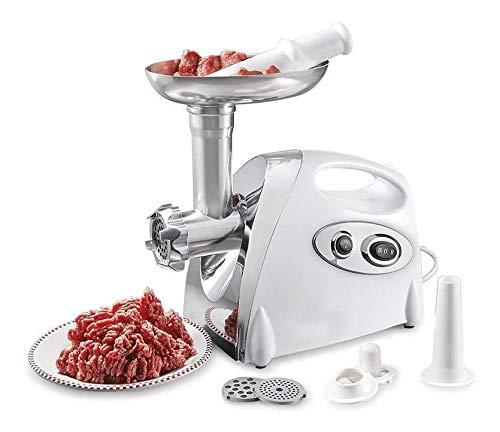 Moedor De Carne Aluminio Eletrico Frango Linguica Cozinha Criativa