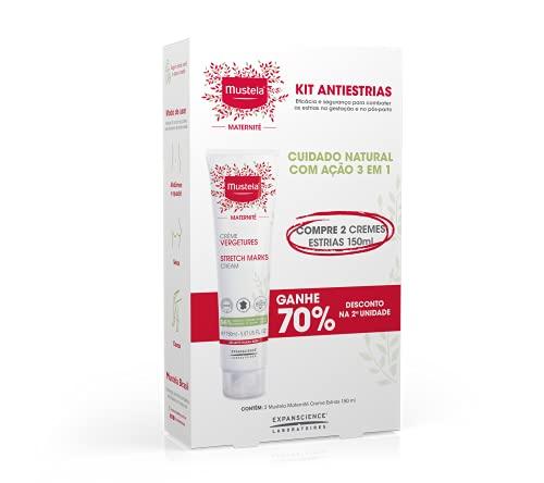 Kit 2 Creme Prevenção de Estrias Mustela, Mustela Maternité, Vermelho