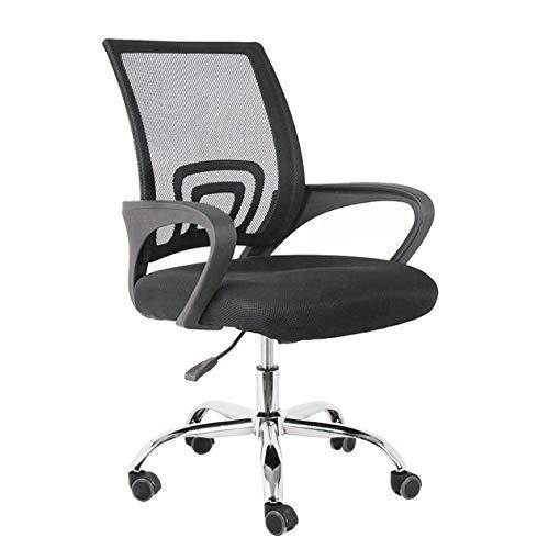Cadeira Escritório Secretária Ergonômica Tela Mesh Preta Conforsit 4893