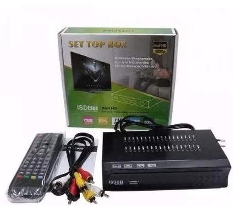 Mini Conversor Digital 1080p Fullhd Isdb-t Com Hdmi