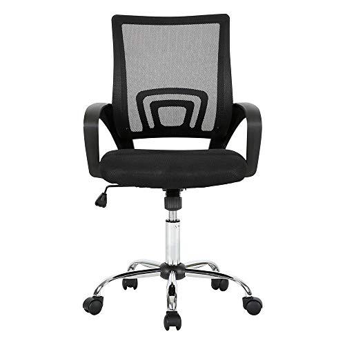 Cadeira De Escritório Executive Cromada - GA197