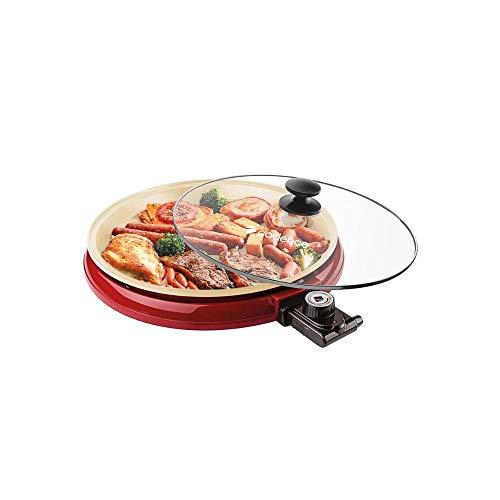 Multi Grill Cadence Ceramic Pan, Vermelho 220V