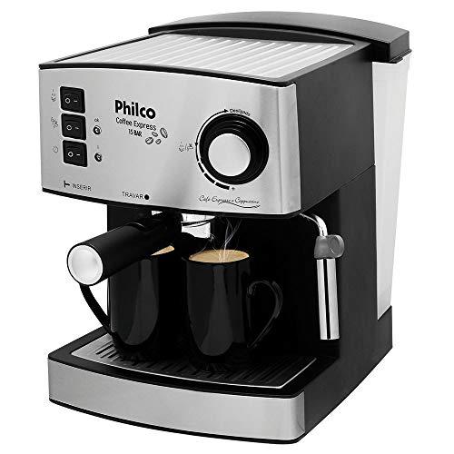 Cafeteira, Coffe Express 15 Bar, 2 xicaras, Preto, 110V, Philco