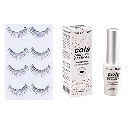 Cola Para Cílios Postiços - Transparente - CA-001 - Macrilan