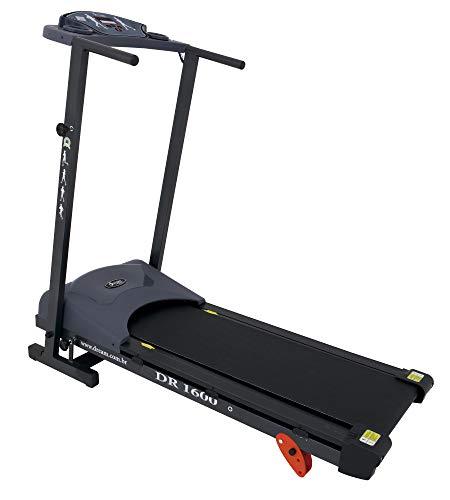 Esteira Eletrônica Dream Fitness DR1600 Cinza/Preto Único