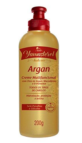 Creme Multifuncional Sterol Argan, Yama, Dourado