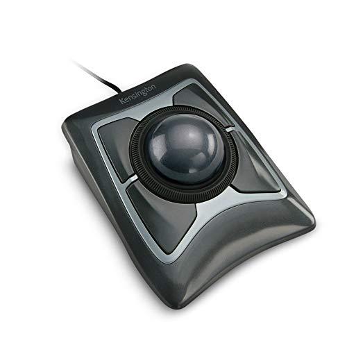 Kensington Mouse trackball Expert (K64325), preto prateado, 12 cm L x 14 cm P x 5 cm A