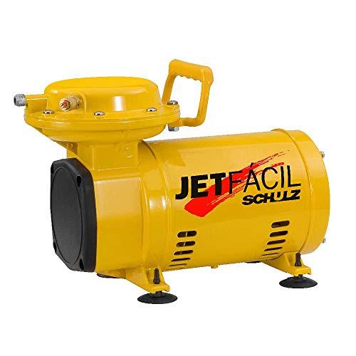 Compressor ar direto baixa pressão 2,3 pés com 2 acessórios - JET FÁCIL Schulz