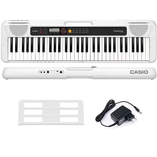 Teclado Musical Casiotone Basico Digital Branco Ct-S200Wec2-Br Branco