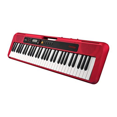 Teclado Musical Casio tone Ct-S200Rdc2-Br Vermelho