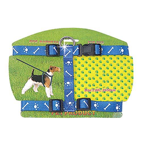 Peitoral 20mmx45-70cm Veneza Chalesco para Cães