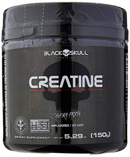Creatine Pure Monohydrate, Black Skull, 150G