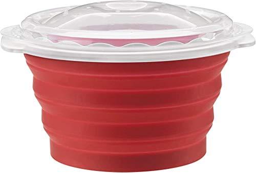 Cuisinart CTG-00-MPM, máquina de pipoca de micro-ondas, tamanho único, vermelho