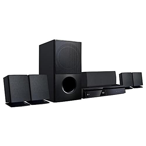 Home Theater Dvd Upscalling Full Hd Lg, 1000 watts, Lhd-625