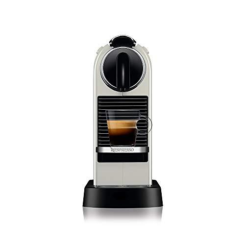 Nespresso CitiZ Cafeteira 220V, máquina de café Espresso em casa, cápsula / cápsula elétrica automática (branca)