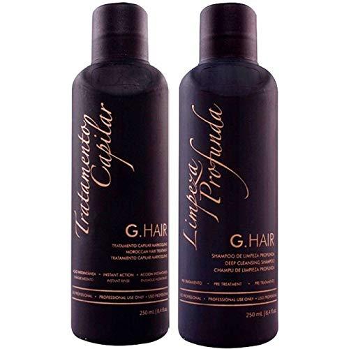 Escova Progressiva Marroquina G. Hair Kit 2x250ml