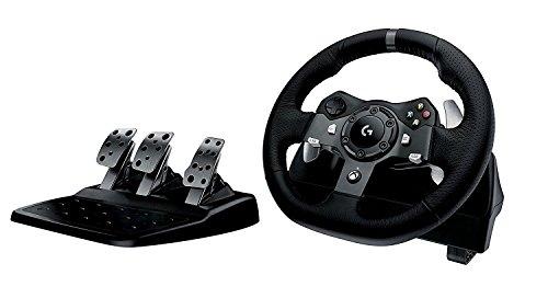 Volante Logitech G920 Driving Force para Xbox Series X S, Xbox One e PC