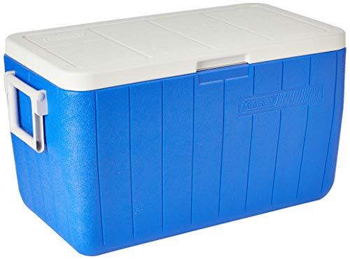 Coleman, Caixa Térmica 48 QT (45,4 L), 64 Latas, Azul