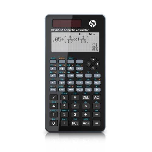 Calculadora Científica HP 300S+ Preto - Display LCD com Mais de 315 Funções Sistema de entrada Algébrico - NW277AA#B1K