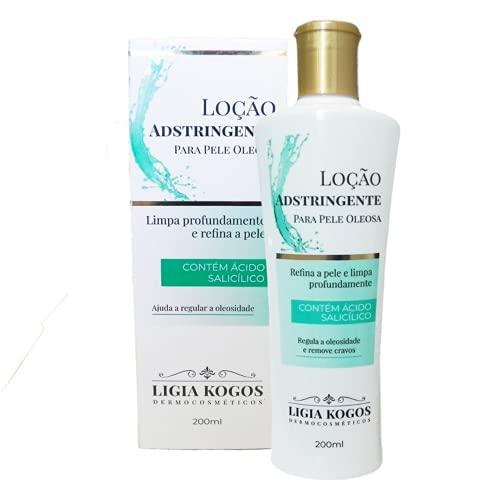 Loção Adstringente Pele Oleosa ou Mista 200ml Ligia Kogos Dermocosméticos