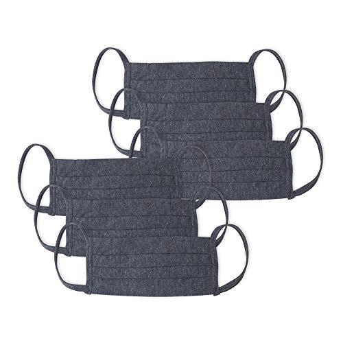 Kit 6Mascaras De Prot.Alg 3Pregas Inter., Mash, Unissex, Cinza Escuro/Cinza Escuro/Cinza Escuro/Cinza Escuro/Cinza Escuro/Cinza Escuro, UN