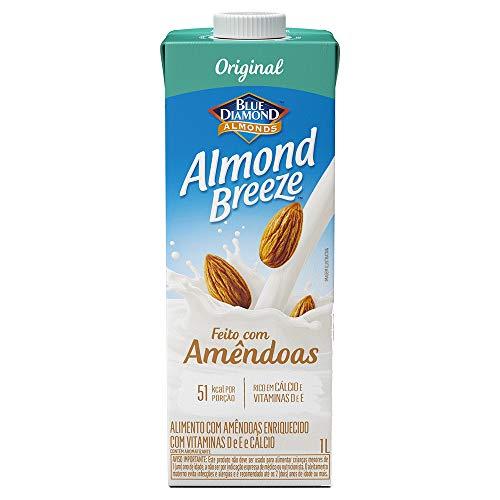 Alimento com Amêndoas Original Almond Breeze, Piracanjuba, 1L