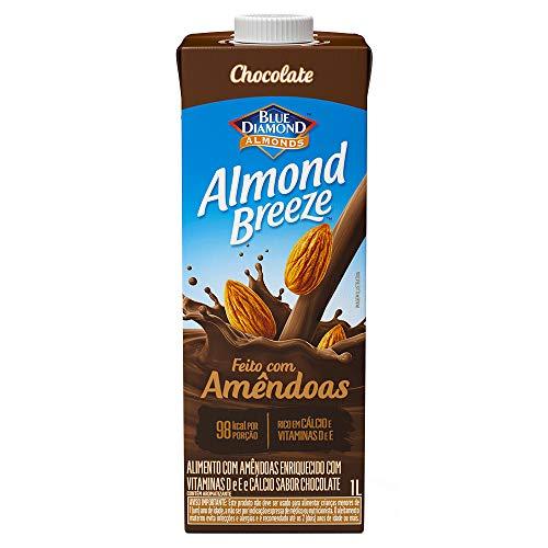 Alimento com Amêndoas Sabor Chocolate Almond Breeze, Piracanjuba, 1L