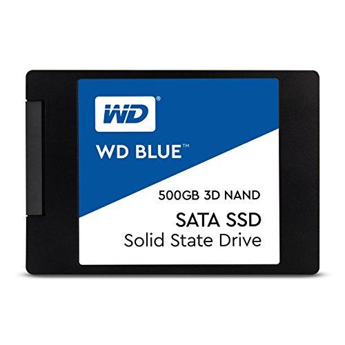 SSD WD Blue 2.5´ 500GB SATA III 6Gb/s Leituras: 560MB/s e Gravações: 530MB/s - WDS500G2B0A