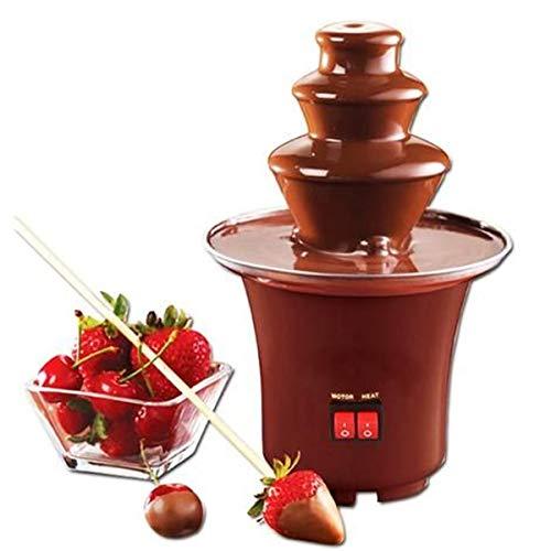 Mini Cascata Fonte De Chocolate Panela Fondue Eletrica - 110v