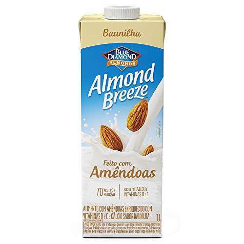 Alimento com Amêndoas Sabor Baunilha Almond Breeze, Piracanjuba, 1L