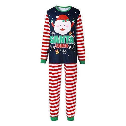 Pijama de Natal para a família combinando para meninos e meninas, Papai Noel, conjunto de presente, Mãe, P