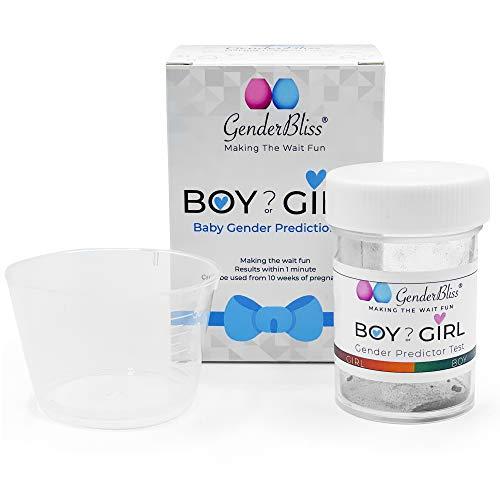 Teste de previsão de gênero para bebês – Kit de gravidez precoce para meninos ou meninas – uso doméstico não invasivo – resultados instantâneos!