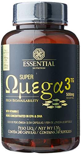 Super Ômega 3 Tg - 240 Cápsulas, Essential Nutrition, 500 Mg